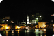 The town of Vis at night