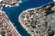Vela Luka view from the air - realestatekorcula com.jpg