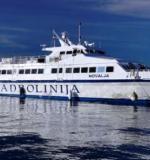 Brodska linija Pula - Zadar - Pula