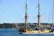 U U Pulskoj luci replika starog jedrenjaka La Grance